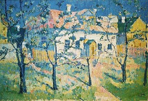 Kasimir Malewitsch: Frühling. 1904