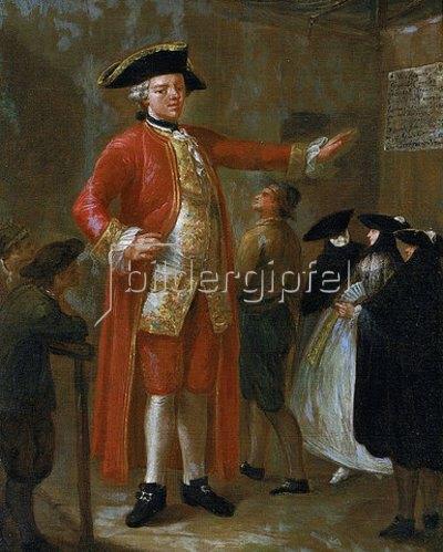 Pietro Longhi: Der Riese Magrat.