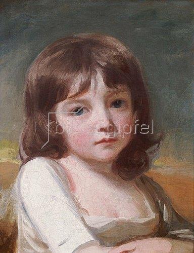 George Romney: Portrait eines Mädchens.