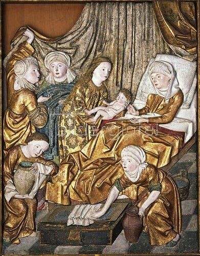 Die Geburt Johannes des Täufers.