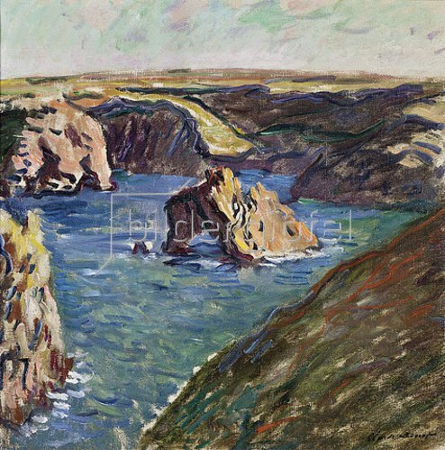 Claude Monet: Belle-Ile. 1886
