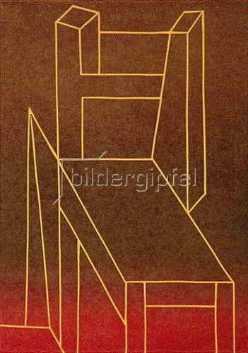Ludwig Gebhard: Stuhl 29. 1986