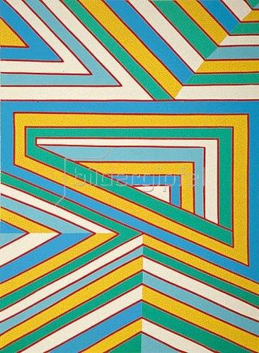 Ludwig Gebhard: Horizontal-Diagonal-Vertikal. 1989
