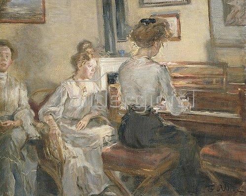 Fritz von Uhde: Hausmusik. 1907