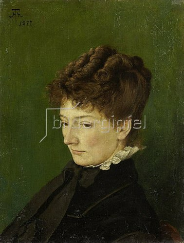 Hans Thoma: Bildnis Ida Müller, geb. Scholderer. 1877