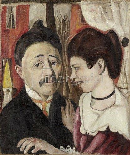 Max Beckmann: Bildnis Ehepaar Carl. 1918