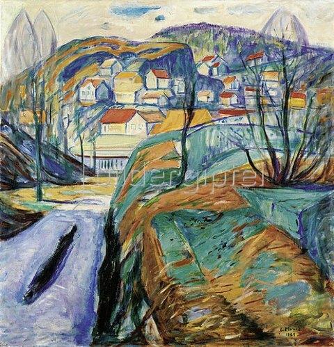 Edvard Munch: Frühling in Kragero. 1921