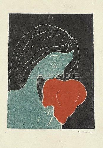 Edvard Munch: Das Herz. 1898-99