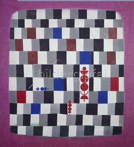 Paul Klee: Überschach. 1937.