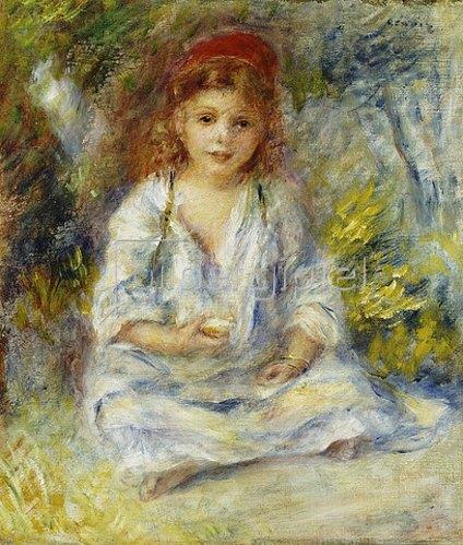 Auguste Renoir: Kleines algerisches Mädchen. Um 1881