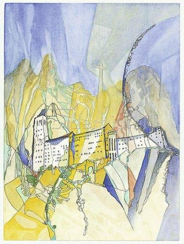 Annette Bartusch-Goger: Spanien - Katalonien: Kloster Montserrat.  2009
