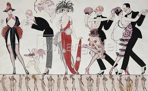 Georges Barbier: Tango.