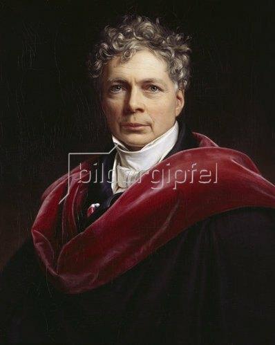 Joseph Karl Stieler: Bildnis Friedrich Wilhelm von Schelling. 1835