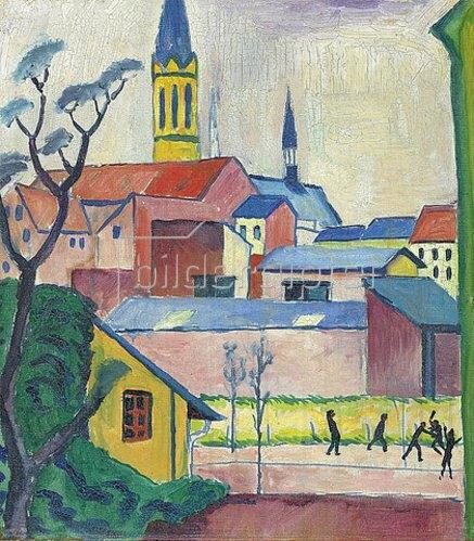 August Macke: Marienkirche. 1911