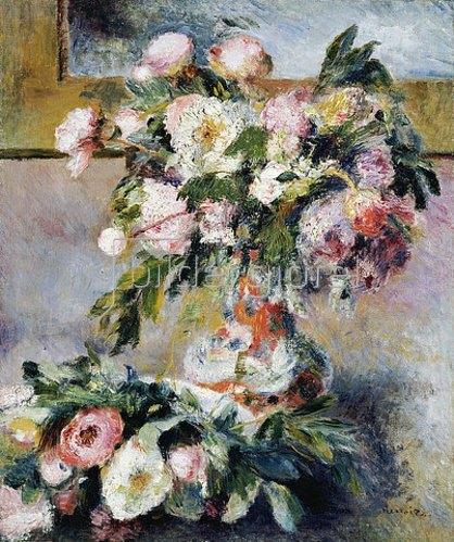 Auguste Renoir: Pfingstrosen. 1878