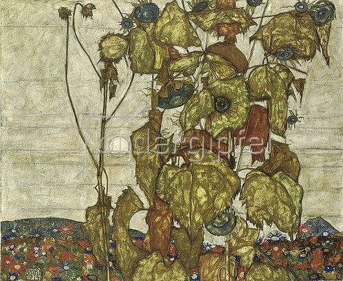Egon Schiele: Herbstsonne. 1914
