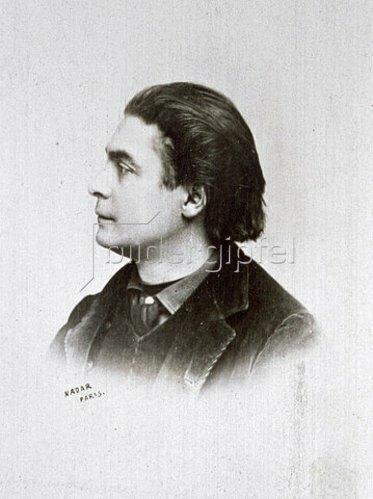 Nadar: Portrait des französischen Kabarettsängers Aristide Bruant. Um 1890-1900