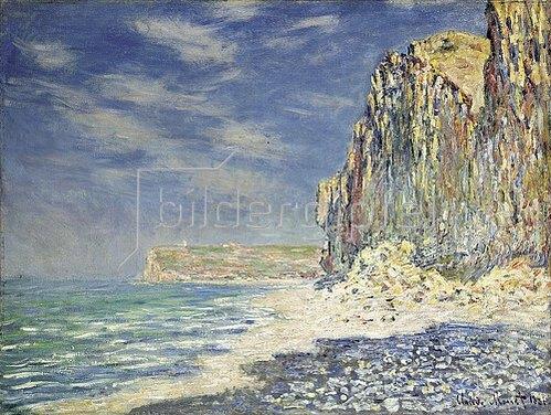 Claude Monet: Steilküste bei Fécamp (Falaise près de Fécamp). 1881
