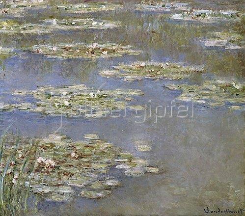 Claude Monet: Seerosen. Um 1905