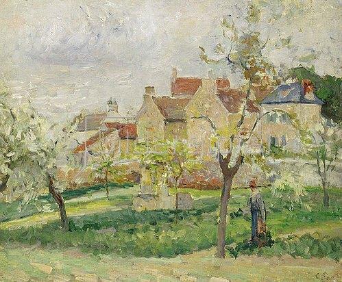 Camille Pissarro: Der Gemüsegarten.