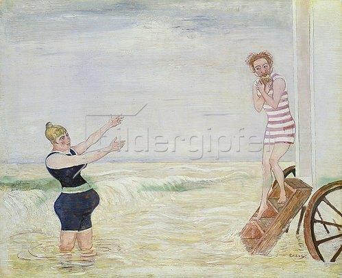 James Ensor: L'Appel de la sirène. 1893