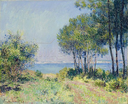 Claude Monet: Die Küste bei Varengeville. 1882