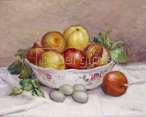 Auguste Renoir: Stillleben mit Granatapfel.