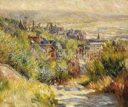 Auguste Renoir: Hügelige Landschaft bei Trouville.