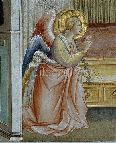 Agnolo/Angelo di Gaddi: Engel der Verkündigung. Um 1392-95