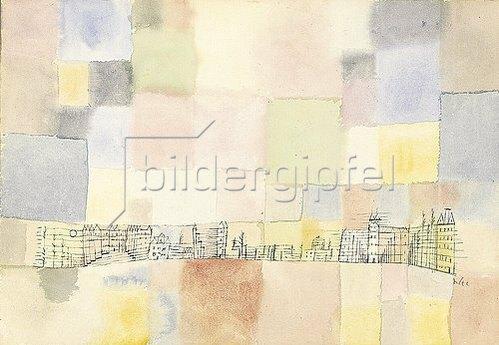 Paul Klee: Neuer Stadtteil in M. 1928