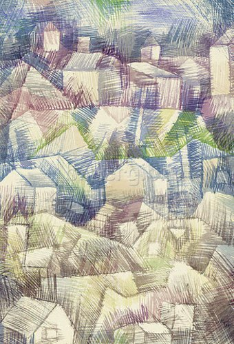 Paul Klee: Voralpiner Ort. 1925