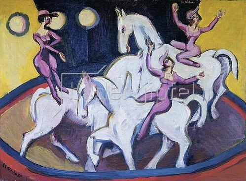 Ernst Ludwig Kirchner: Jockeyakt. 1925