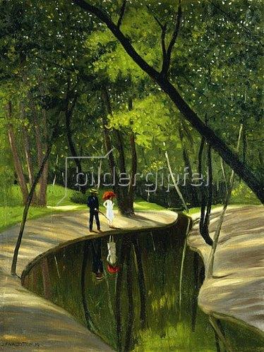 Felix Vallotton: Bois du Boulogne. 1919