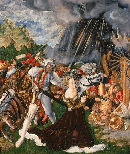 Lucas Cranach d.Ä.: Die Enthauptung der hl. Katharina. Um 1508