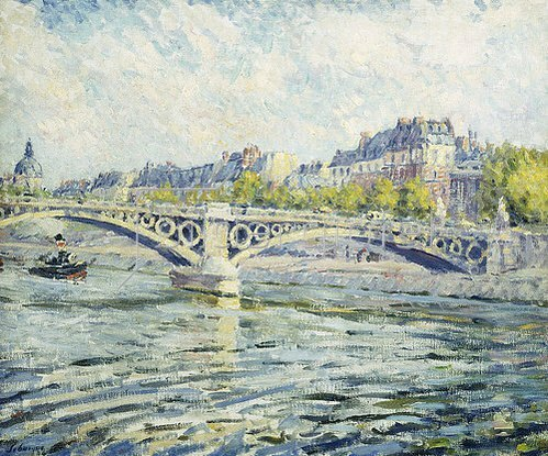 Henri Lebasque: Die Seine, Paris. 1904