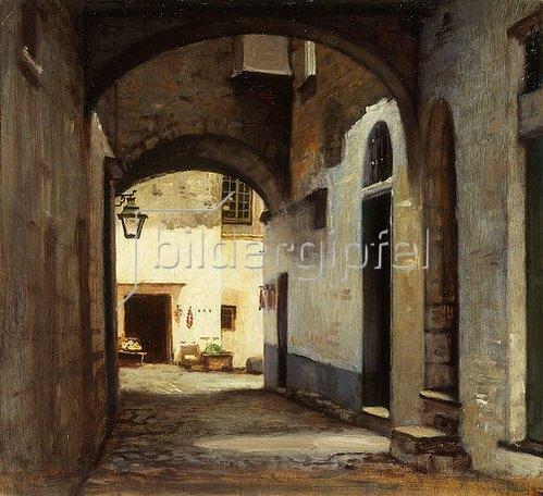 William Morris Hunt: San Remo.