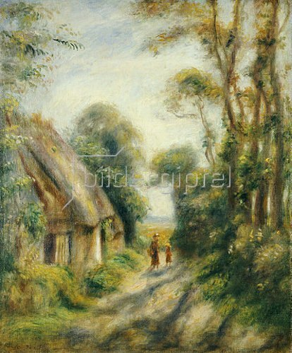 Auguste Renoir: Am Stadtrand von Berneval.