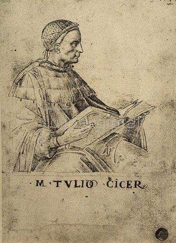Raffael (Raffaello Sanzio): Cicero.