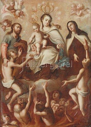 Miguel Cabrera: Maria mit dem Kind.