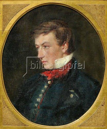 Portrait Heinrich Heine Von Benjamin Vautier Kunstdruck