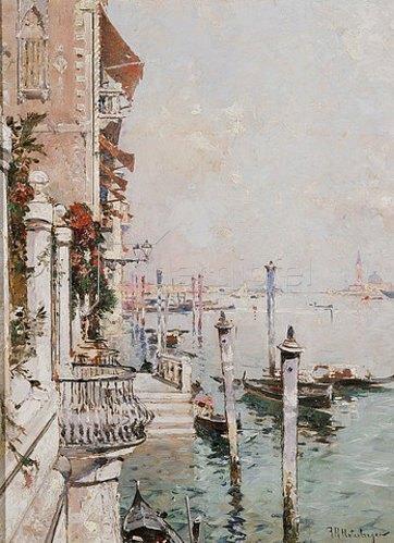 Franz Richard Unterberger: Der Canal Grande, Venedig.