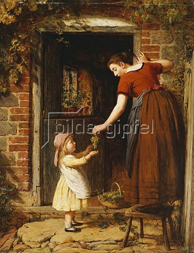 George Smith: Traubenernte. 1875
