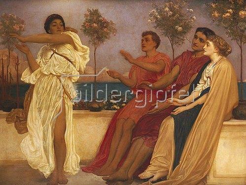 Frederic Leighton: Tanzendes griechisches Mädchen.
