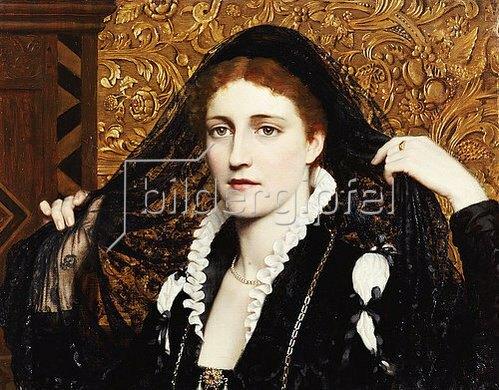 Edmund Blair Leighton: Olivia. 1887