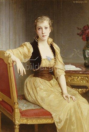 William Adolphe Bouguereau: Lady Maxwell.