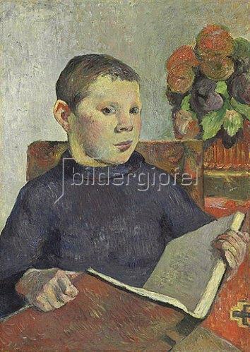 Paul Gauguin: Clovis. Um 1886