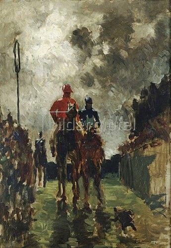 Henri de Toulouse-Lautrec: Die Jockeys. 1882