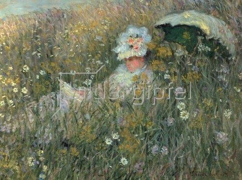 Claude Monet: In der Blumenwiese (Dans la Prairie). 1876