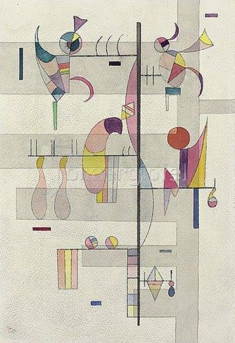 Wassily Kandinsky: Verteilung. 1934