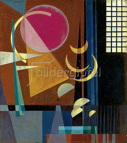 Wassily Kandinsky: Scharf-ruhig. 1927